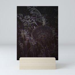 dark salsify Mini Art Print