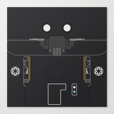 Minimal K-2SO Droid Canvas Print