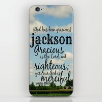 percy jackson iPhone & iPod Skins featuring Jackson by KimberosePhotography