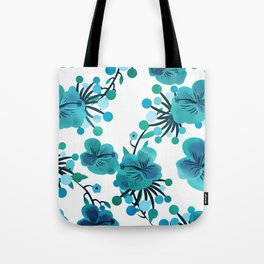 Turquoise Delight Tote Bag