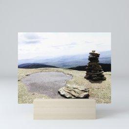Mountain Carin Mini Art Print