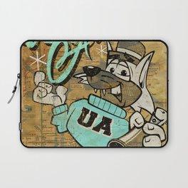 UA Cat Poster Laptop Sleeve