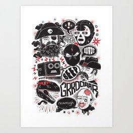 Team Fantastic Art Print