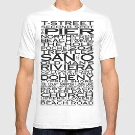 San Clemente Beaches & More T-shirt
