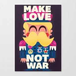 Make Love Canvas Print
