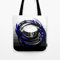 drum Tote Bags featuring Music - Drum by yahtz designs