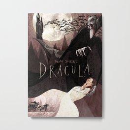 Dracula Metal Print