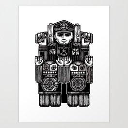 Hands Up. Don't Shoot. Art Print