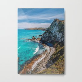 Nugget Point New Zealand Metal Print