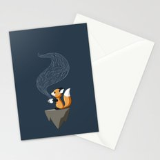 Fox Tea Stationery Cards