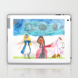 Alice and the Queen Laptop & iPad Skin