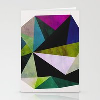 emerald Stationery Cards featuring Emerald by Georgiana Paraschiv