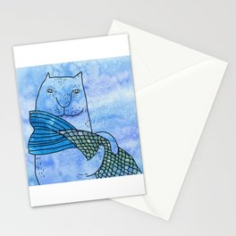 Fish tail Stationery Cards