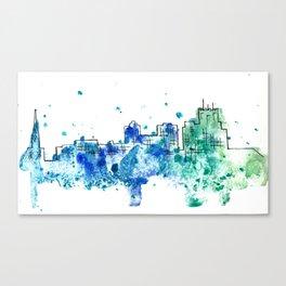 Going Downtown: Jackson Canvas Print