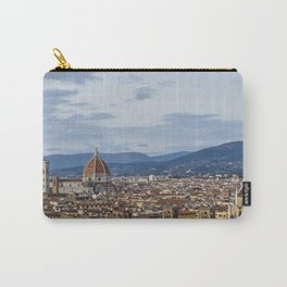 Florence Skyline from Piazza Michelangelo Carry-All Pouch