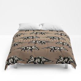 ChocoPaleo: Triceratops Comforters