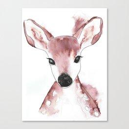 Watercolour Deer  Canvas Print