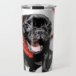 Xmas Frenchie II Travel Mug
