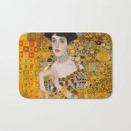 Adelle (Detail) Gustav Klimt Bath Mat