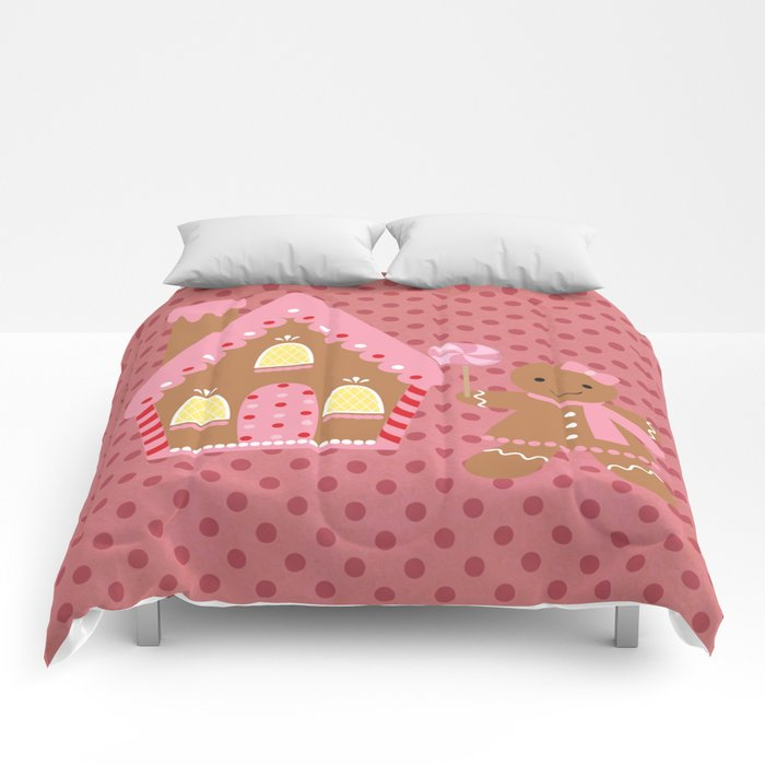 Gilly Gingerbread Comforters