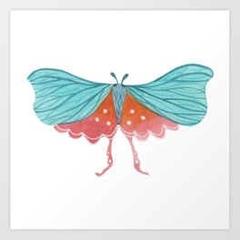 Watercolor Butterfly Day 31/ Wall Hanging Art Print