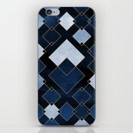 Blue Nebula iPhone Skin