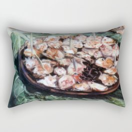 Pulpo a la gallega/Polbo a galega/Galician octopus Rectangular Pillow