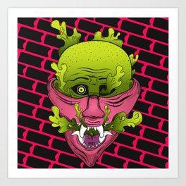 Mouthful of Venom Art Print