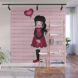 Francis Mary - Love Wall Mural