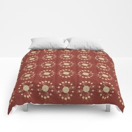 Feathered Spirals Comforters