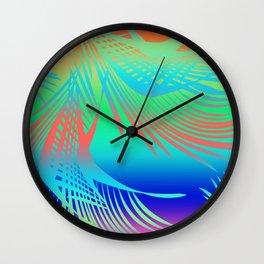 Tropical City Wall Clock