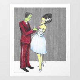 Monster Prom Art Print