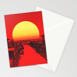 The Karate Kid Sunset Stationery Cards