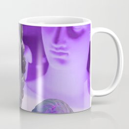 Pt.4 Light Evolution Purple Neon Coffee Mug