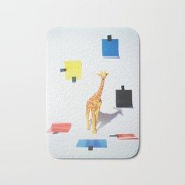 Giraffe Composition Bath Mat