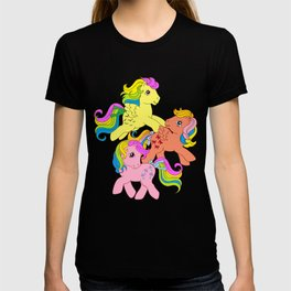 g1 my little pony Rainbow Ponies T-shirt