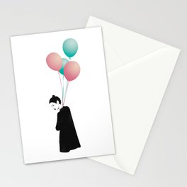Balloons 4 Stationery Cards