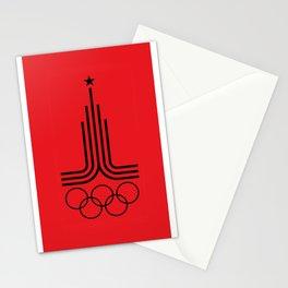 Olympiad-80 Stationery Cards