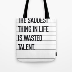 My Bronx Tale Movie Quote poster Tote Bag