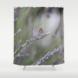Lavender Butterflies - JUSTART © Shower Curtain