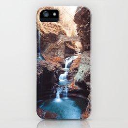 Waterfall at Watkins Glen iPhone Case