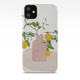 Lemon Branches iPhone Case