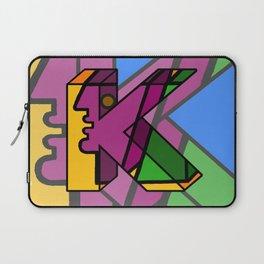 Letter K Laptop Sleeve