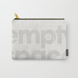 Typo - Empty Space Carry-All Pouch
