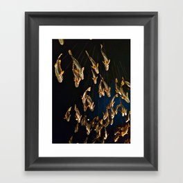 Swimming in a Museum Framed Art Print