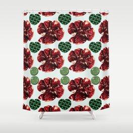 Garnet Shower Curtain