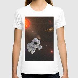 Astronaut Sun Stars T-shirt