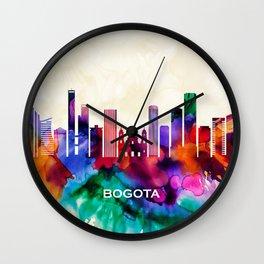 Bogota Skyline Wall Clock