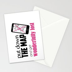 Get wonderfully lost! Stationery Cards
