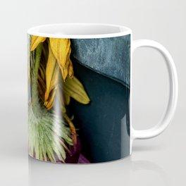 The beauty of dying flowers Coffee Mug
